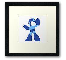 Megaman Vector Framed Print