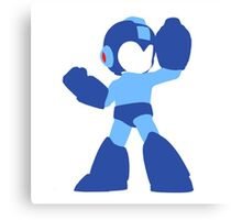 Megaman Vector Canvas Print