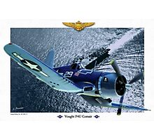 "Vought F4U ""Corsair"" Photographic Print"