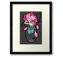 Dead Beauty Cleavee™ Framed Print