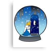 Poor Mr Ice King Canvas Print