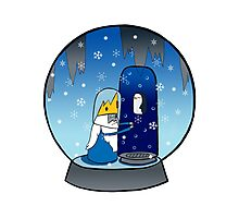 Poor Mr Ice King Photographic Print