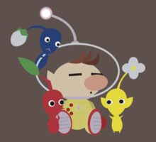 Olimar and Pikmin Vector One Piece - Short Sleeve