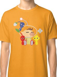 Olimar and Pikmin Vector Classic T-Shirt
