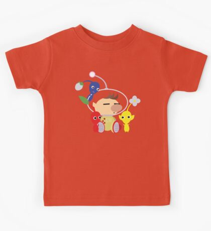 Olimar and Pikmin Vector Kids Tee