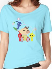Olimar and Pikmin Vector Women's Relaxed Fit T-Shirt