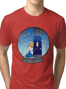 Poor Mr Ice King Tri-blend T-Shirt