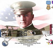 Lieutenant Frank Luke Jr. - Arizona Ballon Buster by A. Hermann