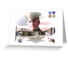 Lieutenant Frank Luke Jr. - Arizona Ballon Buster Greeting Card