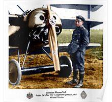 Leutnant Werner Voss Poster