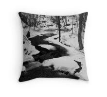 Winter Creek Throw Pillow