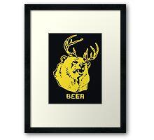 Always Sunny Bear T-shirt Framed Print