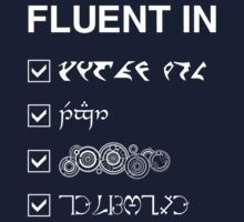Fluent in... by silentrebel