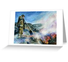 Wildfire Greeting Card