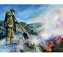 Wildfire Photographic Print