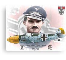 """Adolf """"Dolfo"""" Galland Canvas Print"""