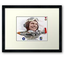 "Capt. Clarence E. ""Bud"" Anderson Framed Print"