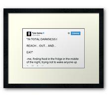 Tyler Oakley - Touch Framed Print
