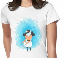 Frozen Past Womens Fitted T-Shirt