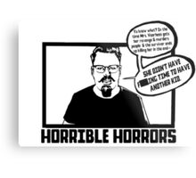Horrible Horrors - Friday the 13th Metal Print