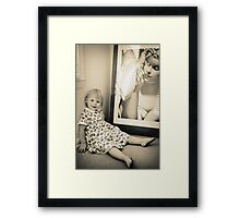 Put your hand on a hot stove for a minute, and it seems like an hour. Sit with a pretty girl for an hour, and it seems like a minute. THAT'S relativity. Framed Print