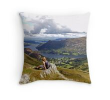 The Lakes - Ullswater Throw Pillow