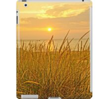 Sunset at Montague Beach iPad Case/Skin