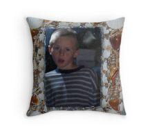 Julian in the Shell Mirror Throw Pillow