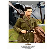 Lieutenant Albert Ball Photographic Print