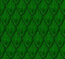Green leaf dragonscales by Aurora