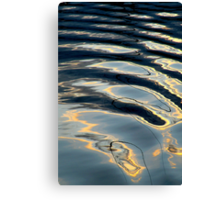 Bow Wake Canvas Print