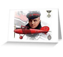Manfred Freiherr von Richthofen Greeting Card