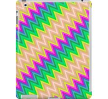 Zig Zag Chevron Pattern iPad Case/Skin