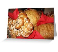 Holiday Bread Greeting Card