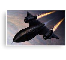 Lockheed SR 71 Blackbird Canvas Print