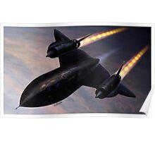 Lockheed SR 71 Blackbird Poster