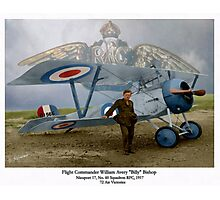 WW I Ace Billy Bishop Photographic Print