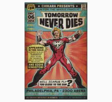 CHIKARA's Tomorrow Never Dies - Official Wrestling Poster Baby Tee