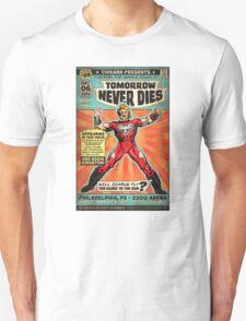 CHIKARA's Tomorrow Never Dies - Official Wrestling Poster Unisex T-Shirt