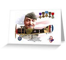 Captain Eddie Rickenbacker Greeting Card