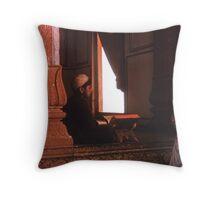 The Scholar Throw Pillow