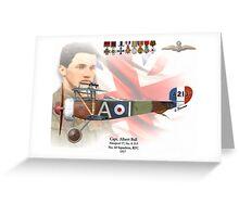 Captain Albert Ball Greeting Card