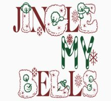 Jingle My Bells (white) Kids Clothes