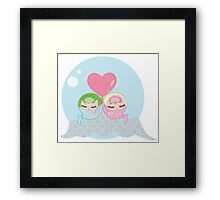Bubble Babies 2 Framed Print