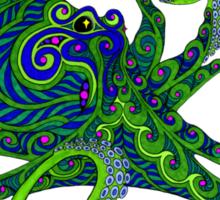 The Octopus T Sticker