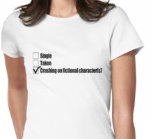 A Nerd's Status Womens Fitted T-Shirt