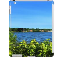 Painterly Mystic River in Summer iPad Case/Skin
