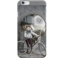 Boy on the Threshold iPhone Case/Skin