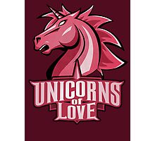 Unicorns of Love (Best quality ever) Photographic Print