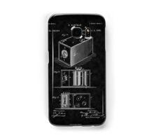 Eastman's 1888 Camera Patent Art_BK Samsung Galaxy Case/Skin
